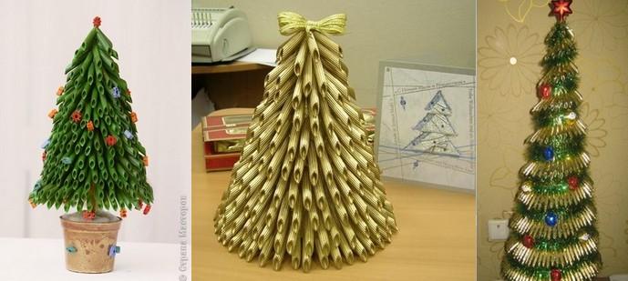 Поделки к новому году новогодняя елка своими