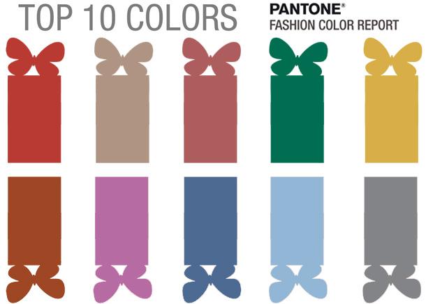 Топ-10 модных цветов сезона