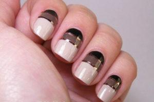Декор ногтей лентой для нейл-арта