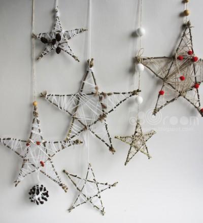 Декор стен к Новому году