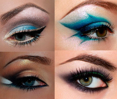 Яркие тени для глаз