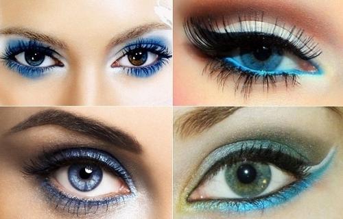Яркие глаза к Новому Году