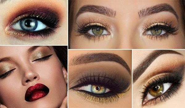 Красивый макияж к Новому Году