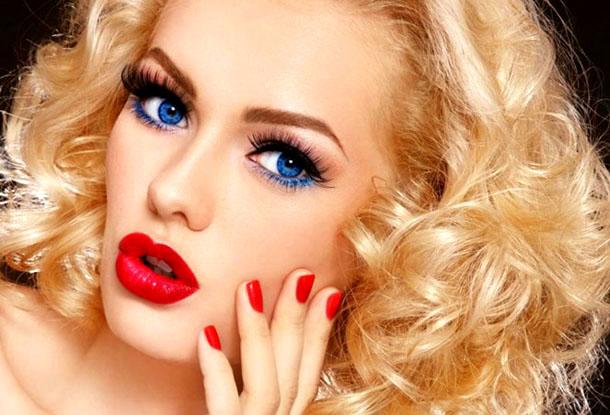 Красивый макияж к НГ