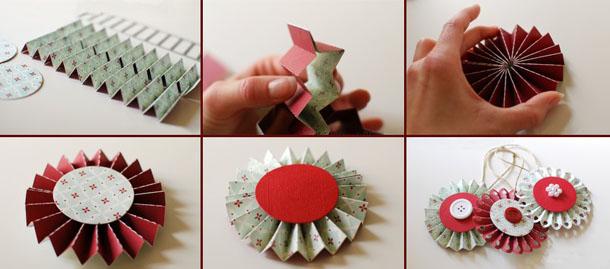 Как сделать новогодние игрушки самостоятельно