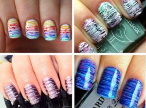 Дизайн ногтей в домашних условиях разнообразие идей при помощи подручных средств
