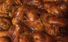 Куриные крылышки под соусом терияки