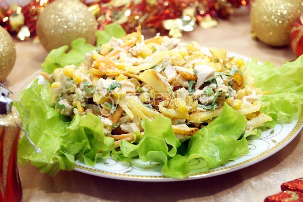 Новогодние салаты на 2013 год рецепты с фото